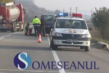 Tânăr din Bistrița implicat într-un accident rutier la Feleacu