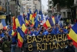 """Marșul """"Luptă pentru Basarabia"""" s-a încheiat cu violențe. Cinci participanți urcați în dubă și duși la secție – VIDEO"""