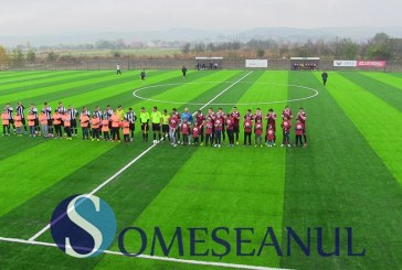 Stadionul din Iclod a fost inaugurat cu un meci amical între Unirea Iclod și U Cluj – FOTO/VIDEO
