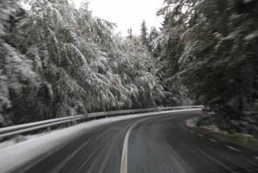 Cod portocaliu de ninsori abundente la munte. În restul zonelor va ploua puternic și va bate vântul