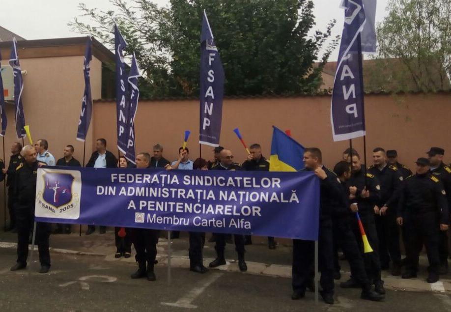 protest-angajati-penitenciare