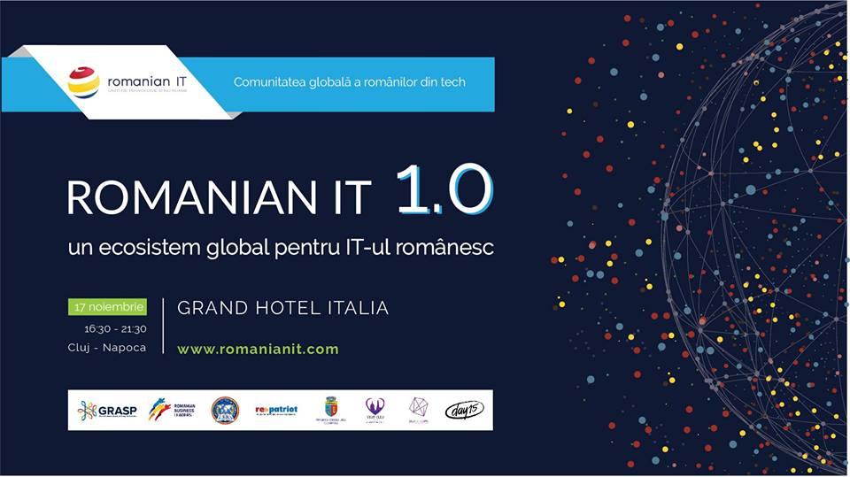 IT-știi români din diaspora se întâlnesc la Cluj-Napoca