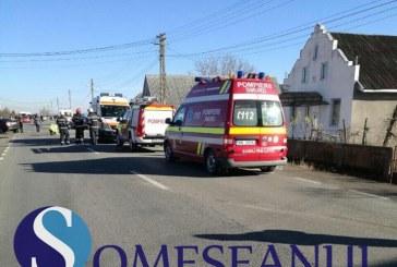 ORADEA: Accident rutier provocat de un șofer din Cluj Napoca