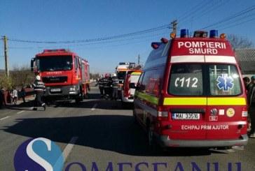 Accident grav la Turda provocat de un șofer beat