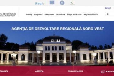 Site-ul Agenţiei de Dezvoltare Regională Nord-Vest a primit o nouă înfățișare