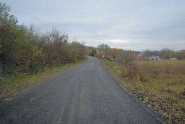 S-au finalizat lucrările de asfaltare pe drumul judeţean DJ 103G Gheorgheni – Aiton