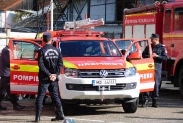 Autospeciala de intervenție rapidă a Detașamentului de Pompieri Dej a fost predată oficial – FOTO/VIDEO