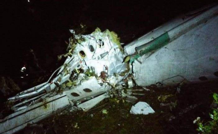 Un avion de pasageri, care avea la bord și o întreagă echipă de fotbal din Brazilia, s-a prăbuşit în Columbia
