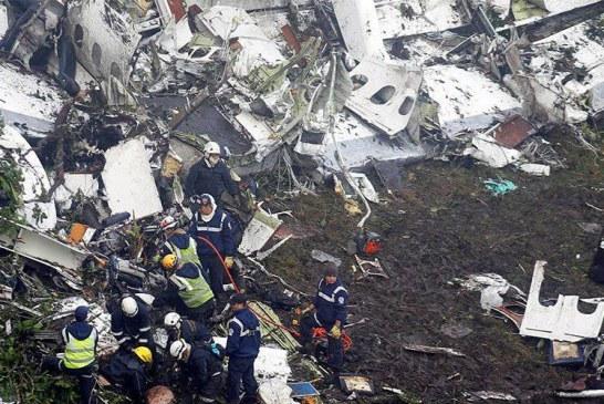 22 de jurnaliști și 19 fotbaliști morți în accidentul aviatic din Columbia