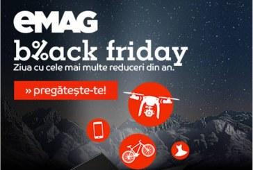 Black Friday eMAG 2016 – Catalogul cu primele produse pe lista cu reduceri