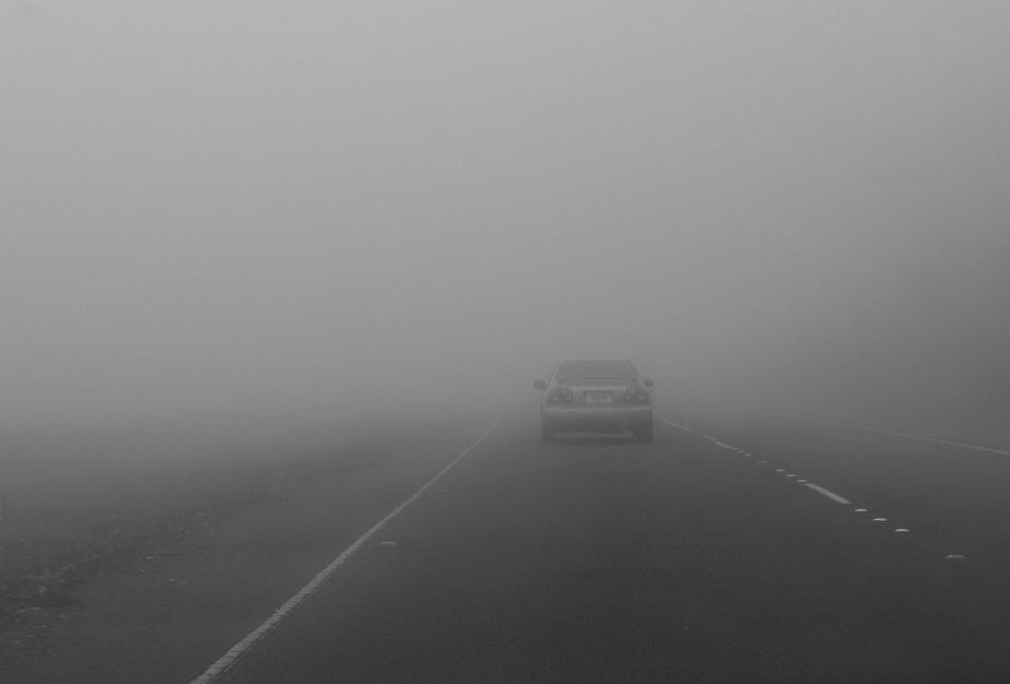 Cod galben de ceață și polei în cinci județe din Transilvania