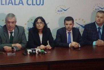 """Tăriceanu la Cluj și Bistrița: """"Următorul guvern trebuie să stabilească o țintă de aderare la euro"""""""