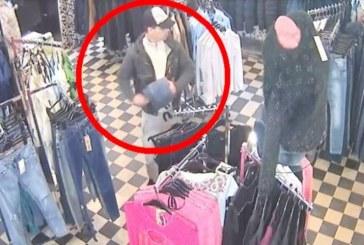 Surprins în flagrant de jandarmi după ce a fugit cu o haină furată dintr-un magazin