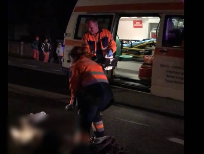 Accident mortal la Turda. Pieton lovit în timp ce traversa neregulamentar