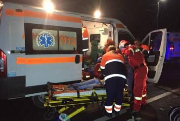 Accident mortal la Vișeu de Sus. O femeie a fost accidentată de o autoutilitară