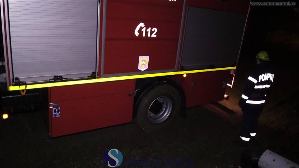 VIDEO – Explozie pe strada Clujului din Bistrița
