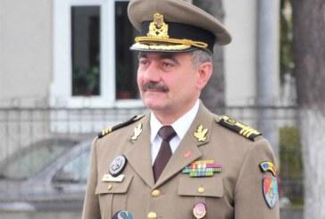 """Comandantul Bazei 4 Logistică ,,Transilvania"""" şi al Garnizoanei Dej, trecut în rezervă"""