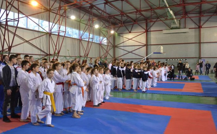 Opt medalii obținute de sportivii Budokan Ryu la Cupa Polipol la Karate WUKF