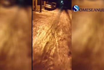 Cartierul Dej-Triaj, uitat de autoritățile locale și îngropat sub ghețuri – VIDEO