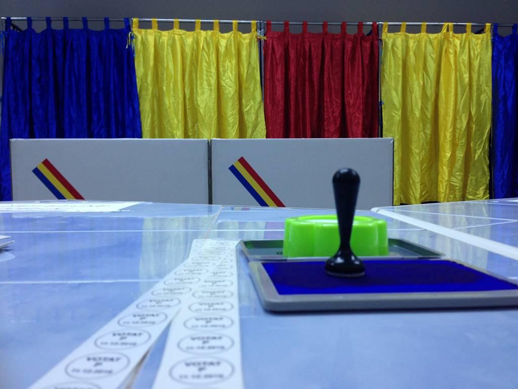 alegeri parlamentare sectie votare