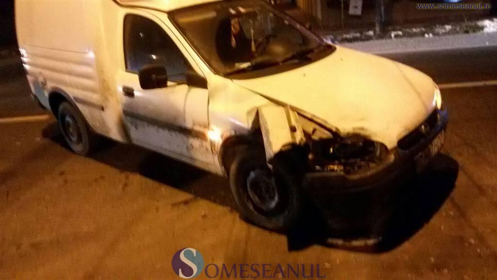 Accident la Gherla, provocat de un șofer din Dej – FOTO