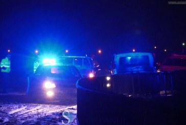 Accident pe pod la Mănăstirea. O familie cu 4 copii, aproape să cadă în Someș – FOTO/VIDEO