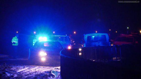 someseanul-accident-pod-manastirea-1-535x301 Accident pe pod la Mănăstirea. O familie cu 4 copii, aproape să cadă în Someș - FOTO/VIDEO