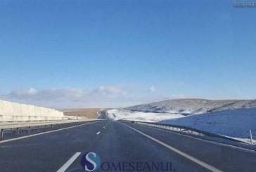 Trafic îngreunat din cauza ceții pe autostrada A3 Turda – Borș