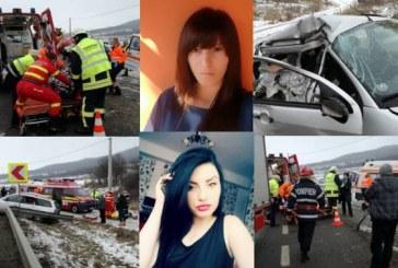 Două tinere din Beclean au murit în accidentul de azi de la Șintereag – FOTO/VIDEO