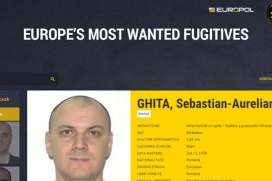 Sebastian Ghiță, pe lista celor mai căutați fugari a Europol