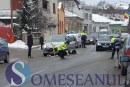 VIDEO – Femeie accidentată de mașină pe strada Ecaterina Teodoroiu