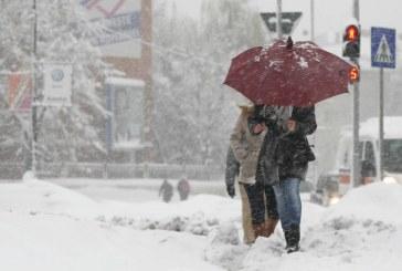 Patru unități de învățământ de pe raza județului Cluj, închise din cauza condițiilor meteorologice