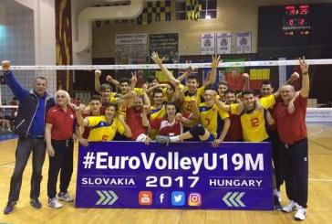 Voleibaliști dejeni, calificați la Campionatul European U19 cu naționala de cadeți