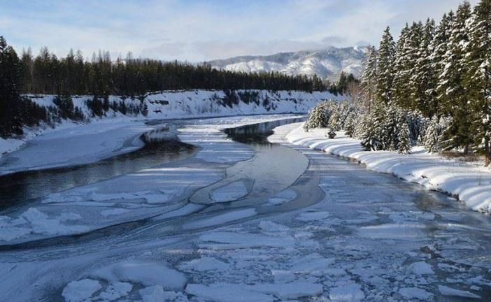 Urmările gerului năprasnic: Poduri de gheață pe cursurile de apă din județul Cluj