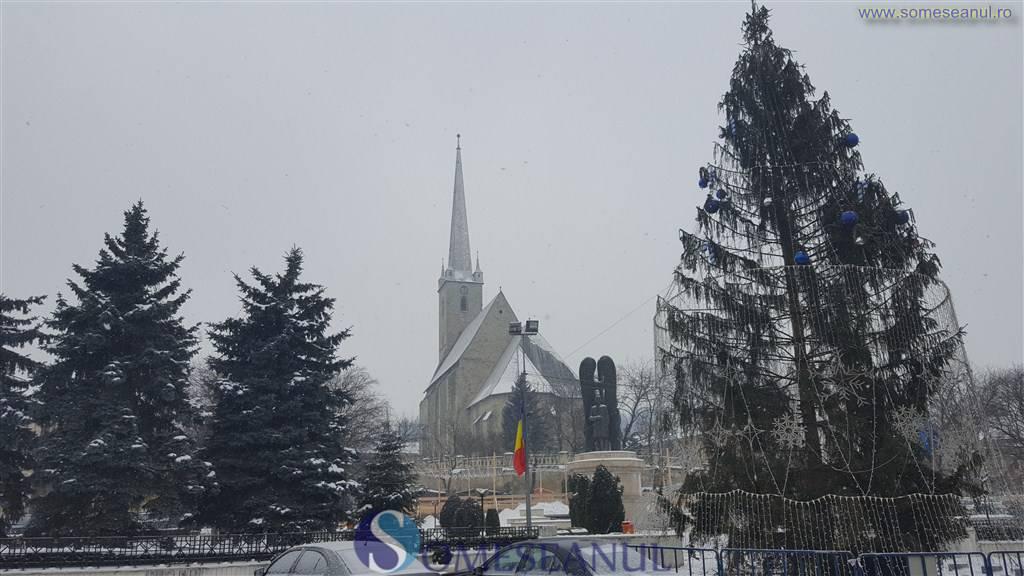 someseanul-centrul Dejului iarna