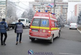 Mopedist accidentat de o autoutilitară în Someș Odorhei