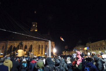 Noi proteste faţă de graţiere anunţate deseară. Mii de oameni sunt așteptați la marșul de la Cluj-Napoca