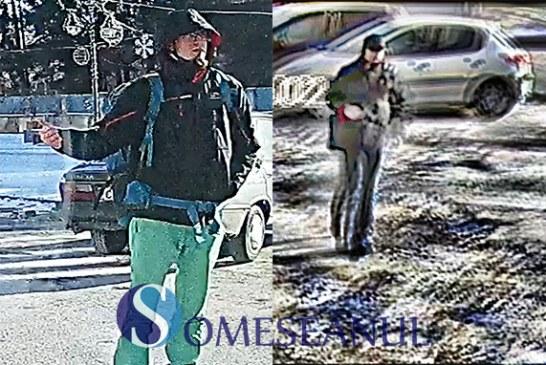 Poliţiştii solicită sprijinul cetăţenilor pentru identificarea a doi bărbaţi bănuiţi de furt – VIDEO