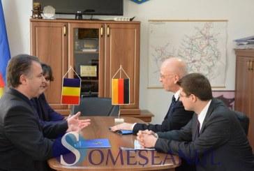 Noul Ambasador al Germaniei, în vizită la Consiliul Judeţean Cluj – FOTO