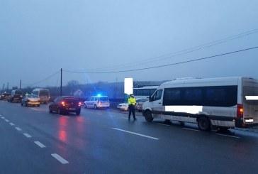 Filtre de poliție între Cluj și Dej. S-au efectuat controale în domeniul transporturilor rutiere de mărfuri și persoane – FOTO