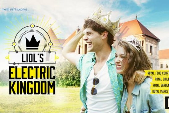 Lidl te invită să descoperi Lidl's Electric Kingdom la Electric Castle