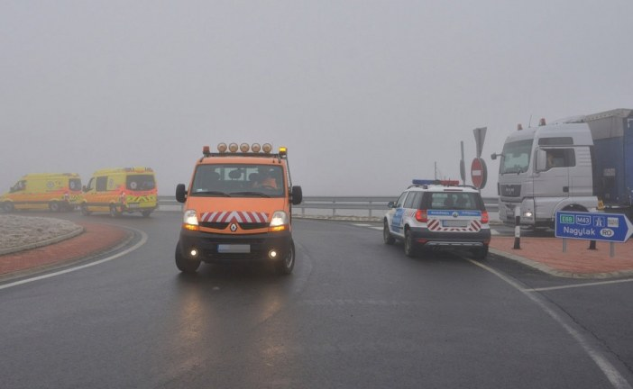 Patru morți într-un accident de autocar în Ungaria, la intrarea în România – FOTO