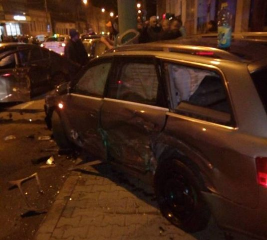 accident cluj 21 decembrie (