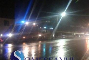 Grav accident la Răscruci. O femeie a fost lovită de mașină – FOTO