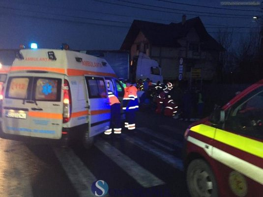 accident microbuz tir rascruci 3 februarie 2017