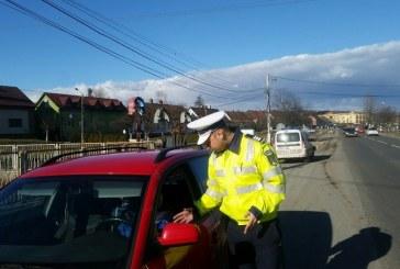 Abateri la regimul rutier, sancționate de polițiștii bistrițeni. 12 conducători auto au rămas fără permis