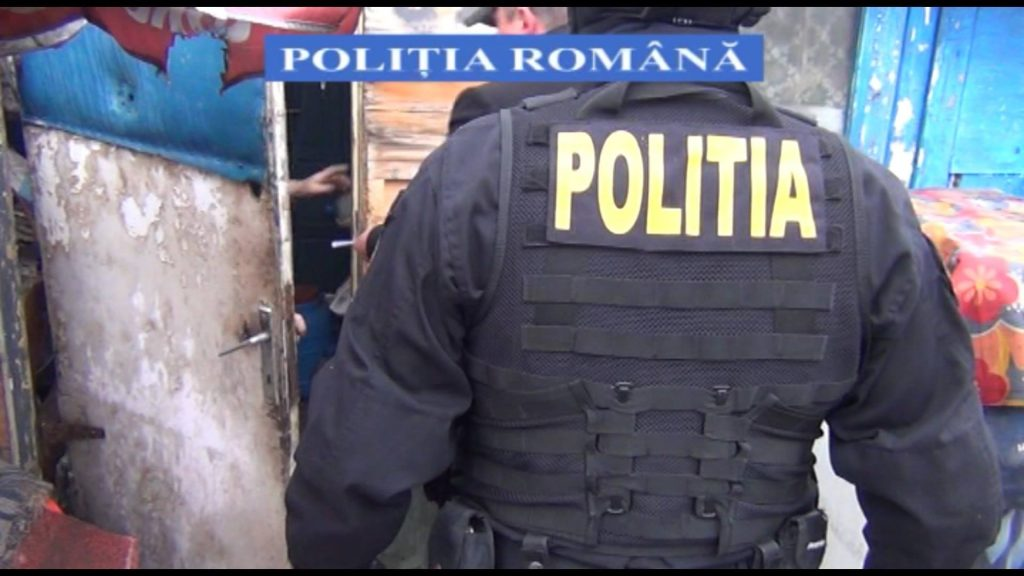 actiune politia cluj
