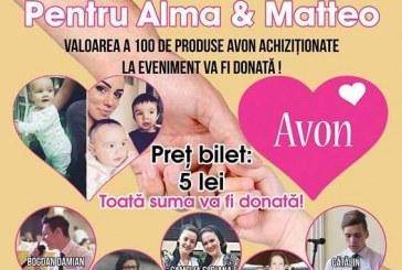 """""""Pentru Alma și Mateo"""", eveniment caritabil la Dej"""