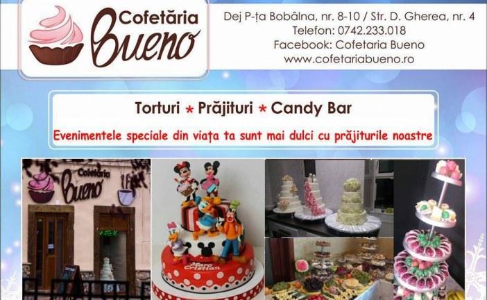 Evenimentele speciale din viața ta sunt mai dulci cu prăjiturile Cofetăriei Bueno (P)