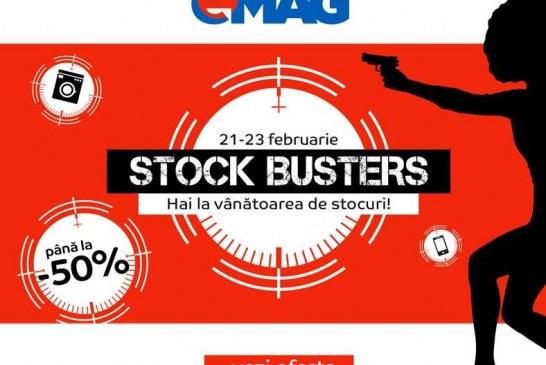 Lichidări de stocuri la eMag. Reduceri importante la mii de produse